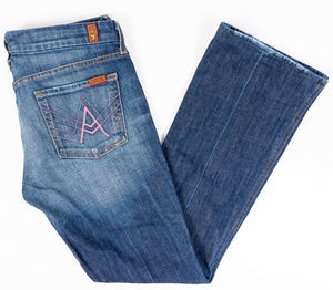 7 For All Mankind A Pocket Bootcut Jeans Sz 29/32